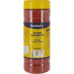 Colorant pour ciment synthétique - Oxyde colorant - Rouge vif - 1 Kg - OUTIBAT - Ciment et Plâtre - BR-536693