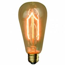 Ampoule vintage - ST64 - E27 - 40 Watts - FOXLIGHT - Ampoules fluocompactes - 599233F