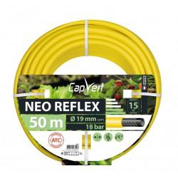 Tuyau d'arrosage Neo Reflex - 19 x 50 M - CAP VERT - Tuyaux d'arrosage - BR-508629