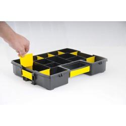 Organiseur à intercalaires mobile - Sortmaster Junior - STANLEY - Boîte à outils / Rangement - BR-200431