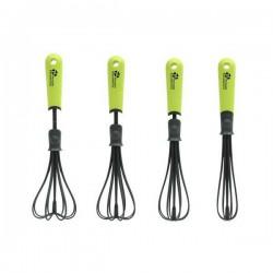 Fouet manuel réglable - Silicone - 4 positions - PRADEL - Fouet, spatule, cuillère, louche - SF1060