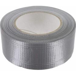 Toile adhésive étanche - Renforcée - 50 M x 50 mm - Gris aluminium - GPI - Ruban adhésif fixateur - BR-306819