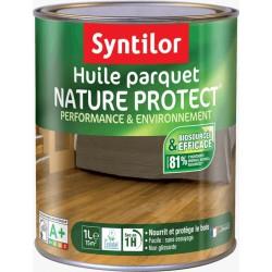 Huile pour parquet - Nature Protect - Incolore - 1 L - SYNTILOR - Entretien du bois - DE-277153
