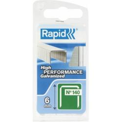 Agrafe n°140 Rapid Agraf - Fil plat - Dimensions 6 mm - 970 agrafes - RAPID - Agrafes - BR-601429