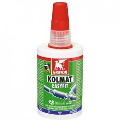 Pâte d'étanchéité - Kolmat® Easyfit - Pour raccords filetés en métal - 50 ml - GRIFFON - Enduit anti-humidité / étanchéité -...
