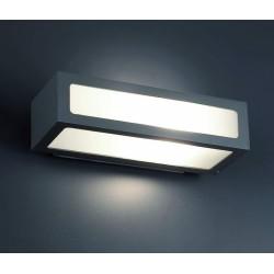 Lampe applique Natron - Gris foncé - FARO - Pour l'extérieur - 70887