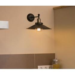 Lampe applique Marlin - Noir - FARO - Pour l'intérieur - 65133
