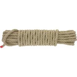Corde en chanvre - 10 Mètres - 10 mm - CORDERIE TOURNANAISE - Cordage - BR-307925