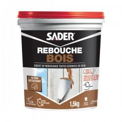 Enduit de rebouchage spécial Bois - 1.5 Kg - SADER - Enduit de rebouchage - DE-518697
