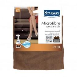 Lavette microfibre spécial cuir - STARWAX - Chiffon de nettoyage - DE-454249