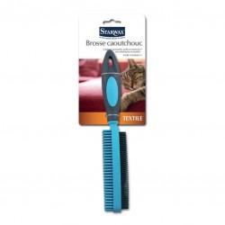 Brosse caoutchouc - Spécial textile - STARWAX - Rangement et soin du linge - DE-302919