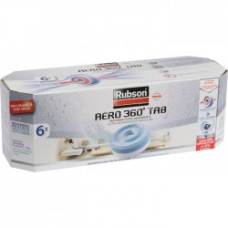 6 Recharges absorbeur Power Tab - RUBSON - Humidité / moisissures - BR-800397