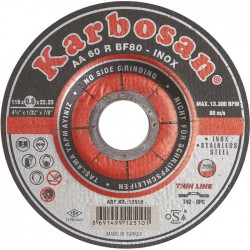 Disque àtronçonner - Pour acier et inox - Faible épaisseur - Diamètre 115 mm - SCID - Disque - SI-763478