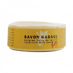 Savon de rasage - Surgras - Huile de laurier - 100 Grs - ALEPPO - Rasage et épilation - DE-455642