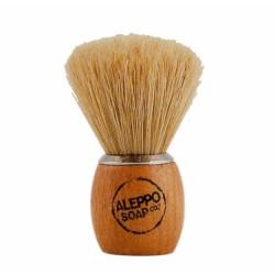 Blaireau naturel - Soie de sanglier - ALEPPO - Rasage et épilation - DE-455733