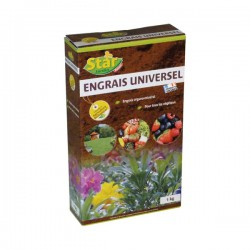 Engrais universel UAB - organo minéral - 1 Kg - STAR - Engrais et activateur - DE-614974
