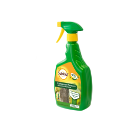 Anti-mousse - Mousses sur troncs - origine végétale - 1 L - SOLABIOL - Désherbants - DE-253451