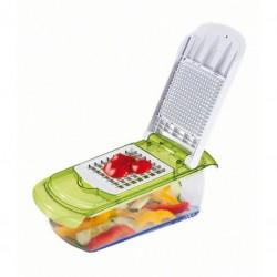 Mandoline et coupe-légumes, 2 en 1 - KITCHEN ARTIST - Couper / Éplucher fruits et légumes - DE-388181
