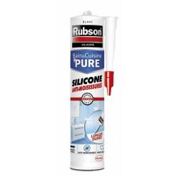 Mastic sanitaire - Bain & Cuisine - Blanc - 280 ml - RUBSON - Mastic sanitaire - DE-474932