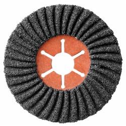 Disque abrasif semi-flexible - Carbure de silicium - Grain 36 - 115 x 22 mm - SCID - Disque - BR-630384
