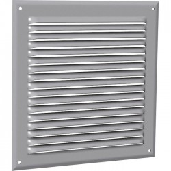 Grille de ventilation classique - Aluminium - 165 x 210 mm - ANJOS - Grille de ventilation - SI-511037
