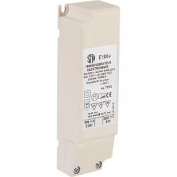 Transformateur électronique - Pour ampoule halogène - Puissance 20 à 60 W - Interrupteurs luminaires - SI-900057