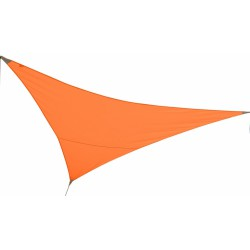 Voile d'ombrage triangulaire - First - 3 M - Orange - JARDILINE - Voile d'ombrage - VSF300M