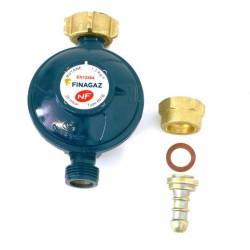 Détendeur butane à sécurité 697B + tétine rapportée - FINAGAZ - Équipements pour gaz butane - SG14254E