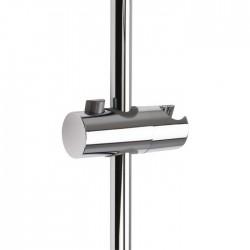 Curseur pour barre de douche chromé avec poussoir - 25 mm - ODYSSEA - Ensemble et barre de douche - SI-161652