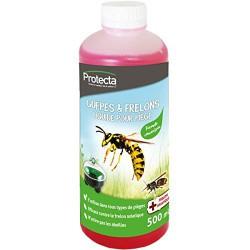 Répulsif liquide concentrée pour piège à guêpes et frelons - 500 ml - PROTECTA - Insectes volants - DE-399329
