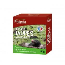 Répulsif taupes - 10 bâtonnets - PROTECTA - Taupes - DE-399386