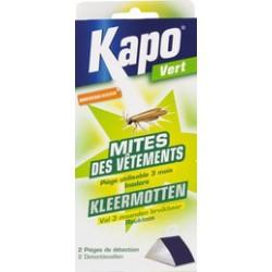 2 pièges à mites - Mites des vetements - 12 semaines - KAPO - Insectes volants - 303524