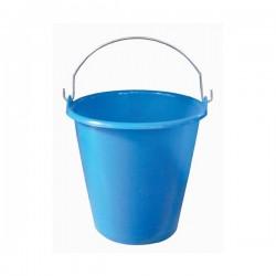 Seau ménager en palstique avec anse - 5 L - Bleu - ALUMINIUM & PLASTIQUE - Bassine et seau - DE-654137