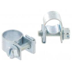 Collier de serrage Mini clamp - Acier -7 - 9 mm et 9 - 11 mm - CAP VERT - Raccords / coudes / manchons - BR-590450
