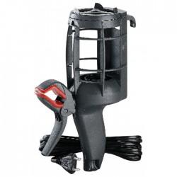 Lampe baladeuse - panier plastique - E27 - 75 W - cordon 5 m + pince - LEGRAND - Baladeuses - BR-372927