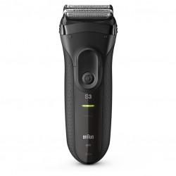 Rasoir électrique rechargeable Braun Series 3 ProSkin 3040s technologie Wet&Dry - Noir - BRAUN - Rasage et épilation - 3020SNOIR