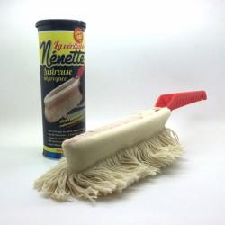 Lustreuse imprégnée - Frange en coton - NENETTE - Lustrage et entretien - DE-191973