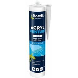 Mastic acrylique d'étanchéité spécial peintre - Acryl peinture - 310 ml - BOSTIK - Autres Mastics - DE-462937