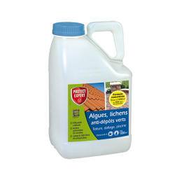 Anti-algues, Lichens et anti-dépôts verts - 5 L - PROTECT -  - DE-456658