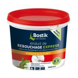 Enduit de rebouchage Express en pâte - 700 ml - BOSTIK - Enduit de rebouchage - DE-452474