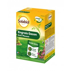 Engrais Gazon Anti-Mousse - 3.2 Kg - SOLABIOL - Engrais et activateur - DE-456491