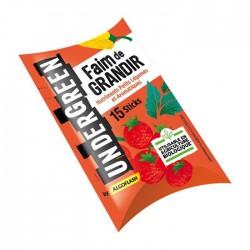 Nutriment petits légumes et aromatiques - Faim de grandir - 15 sticks - UNDERGREEN - Engrais et activateur - DE-382739