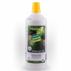 Détergent puissant concentré - Primodeur 3D - 1L - Citron Vert - PRIMODEUR - Hygiène de la maison - DE-612796