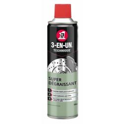 Super Dégraissant - 500 ml - 3-EN-UN Technique - Solvant / Graisse - BR-163712