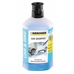 Shampoing auto 3 en 1 - Détergent - 1 L - KARCHER - Lustrage et entretien - BR-240129
