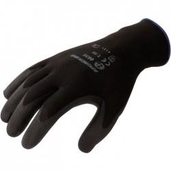 Gants de précision en Polyester - Noir - EUROTECHNIQUE - Gants de bricolage - SI-839237