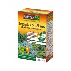 Engrais Conifères et arbustes d'ornement - 1.5 Kg - SOLABIOL - Agriculture biologique - DE-253906