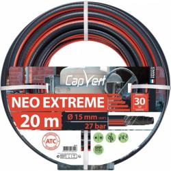Tuyau d'arrosage Neo Extrême - 15 x 20 M - CAP VERT - Tuyaux d'arrosage - BR-508694