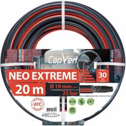 Tuyau d'arrosage Neo Extrême - 19 x 20 M - CAP VERT - Tuyaux d'arrosage - BR-508695
