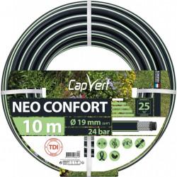 Tuyau d'arrosage Neo confort - 5 couches - 19 x 10 M - CAP VERT - Tuyaux d'arrosage - BR-508681